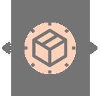 Ícone de serviço de Logística