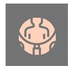 Ícone de serviço de Recursos Humanos